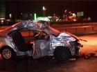 В Киеве на Харьковской площади легковушка столкнулась с грузовиком, двое погибших