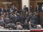 В Раде депутат от БПП напал на Яценюка