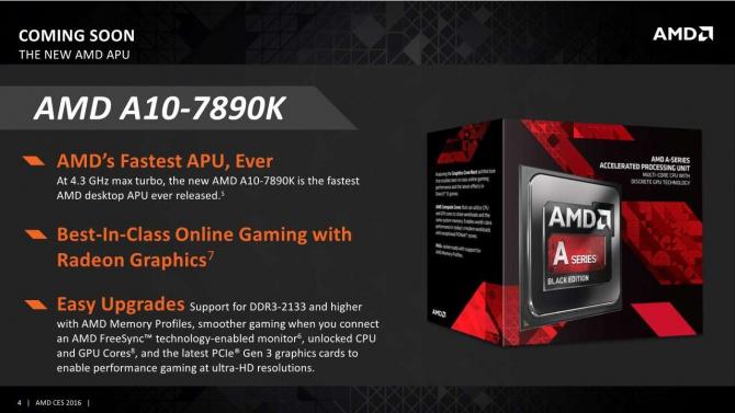 AMD выпускает свой самый мощный гибридный процессор A10-7890K - фото