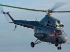На Полтавщине упал вертолет Ми-2