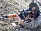 Снайперы боевиков были чрезвычайно активными у Песков и Новгородского