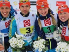 """Украинские биатлонисты завоевали два """"золота"""" в Арбери"""
