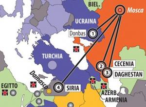 В Италии на карте к РФ дорисовали Крым - фото