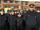 В Ивано-Франковске приняли присягу 208 новых патрульных полицейских