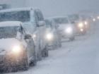 В России мужчина умер в снежной пробке на трассе