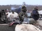 Боевики продолжают вести огонь по украинским позициям в зоне АТО