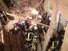 На Богдана Хмельницкого обвалился дом, под завалами оказались люди