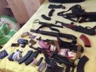 СБУ обнаружила в Киеве схрон оружия незаконного военизированного формирования