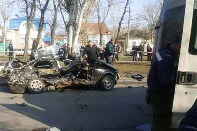 В Николаеве в ДТП с участием правоохранителя погибли четыре человека - фото