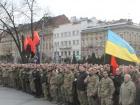 Во Львове провели акцию против «политических репрессий»