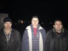 Из плена освобождено двух военных и одного гражданского
