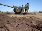 Сначала из минометов, затем из крупнокалиберной артиллерии боевики били по позициям сил АТО у Авдеевки