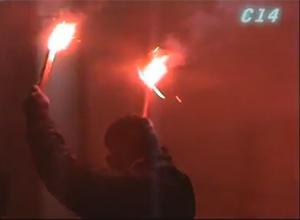 В Киеве напали на российское посольство - фото
