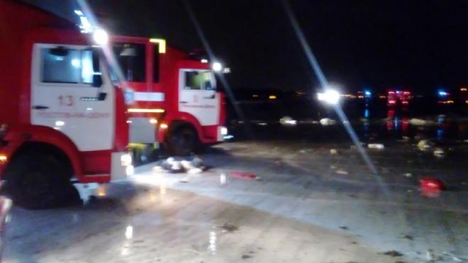 В Ростове-на-Дону разбился авиалайнер с 62 людьми на борту - фото