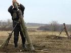 За прошедшие сутки боевики продолжили обстреливать с запрещенного Минскими договоренностями оружия