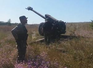Ночью боевики применили и тяжелое артиллерийское вооружение - фото
