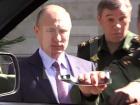 Путину показали замечательный образец военной техники, которая ломается