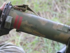 Российский огнемет, захваченный на Донбассе