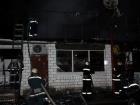 В Киеве на рынке «Юность» произошел пожар