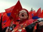 В Украине первомайские демонстрации были очень малочисленными