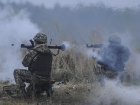 За минувшие сутки боевики 12 раз обстреляли позиции сил АТО