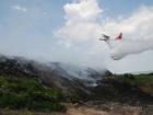 ГСЧС: пожар на Грибовецькой свалке локализован