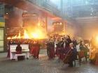 Музыкальную тему с «Игры престолов» исполнили на металлургическом комбинате Мариуполя