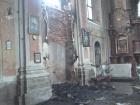 На Львовщине горела церковь XVII века