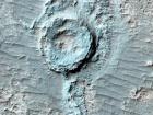 """На Марсе нашли """"перевернутый"""" кратер"""