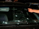 В центре Запорожья с АК обстреляли автомобиль