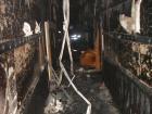 В Киеве горело здание Соломенского суда (фото)