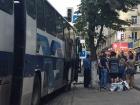 В центре Днепра совершили разбойное нападение на автобус