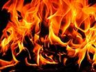 В зоне отчуждения пожар