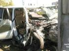 В Киеве водитель убегал от патрульных и врезался в столб