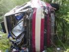 В Крыму с обрыва упал автобус, есть погибшие