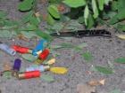 В Николаеве злоумышленник стрелял и бросил гранату в патрульных (фото)