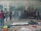 Под «Киевгорстроем» произошли столкновения (видео)