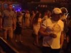 У метро Героев Днепра протестовали против строительства ТРЦ