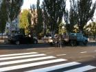 В Николаеве водитель насмерть сбил четырех автодорожников (фото)