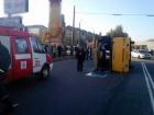 В Броварах перевернулась маршрутка, много травмированных