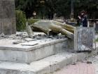 В оккупированном Судаке разрушили Ленина