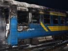 В Тернополе в депо загорелся пассажирский поезд