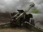 За прошедшие сутки боевики применяли 152-мм артиллерию, танк