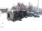 Автобус со школьниками перевернулся на Черниговщине