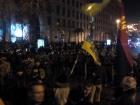 На Грушевского полиция не дала активистам поджечь шины