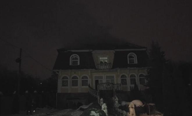 Дом экс-главы милиции Закарпатья обстреляли изгранатомета