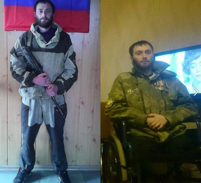 Типичный российский наемник «до» и «после» Донбасса - фото