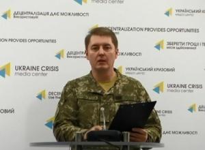 На Донбассе подорвался грузовик с украинскими военными - фото