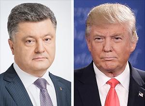 Порошенко и Трамп обсудили ситуацию на Донбассе - фото