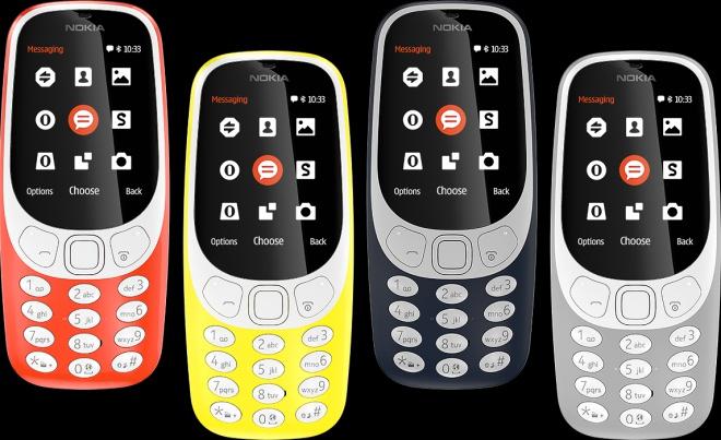 Представлена обновленная Nokia 3310 (видео) - фото